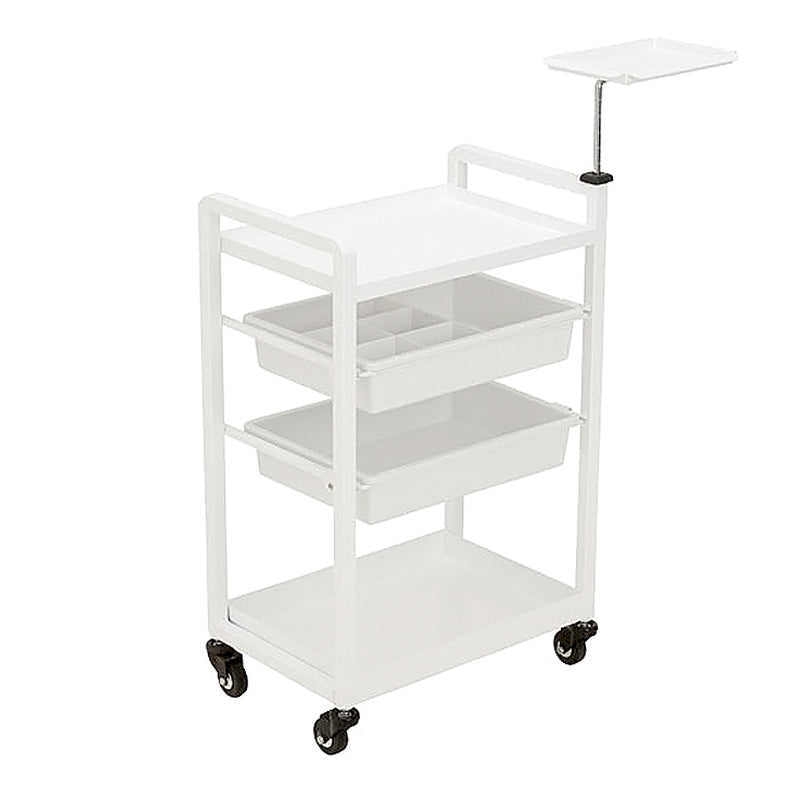 Beauty Metal Trolley with Adjustable Height Tray - MST281 - Greenlife