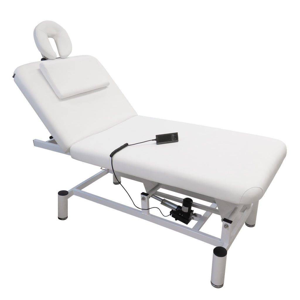 One Motor Electric 2 Section SPA Massage bed with lifted back support (1M-361) - Greenlife