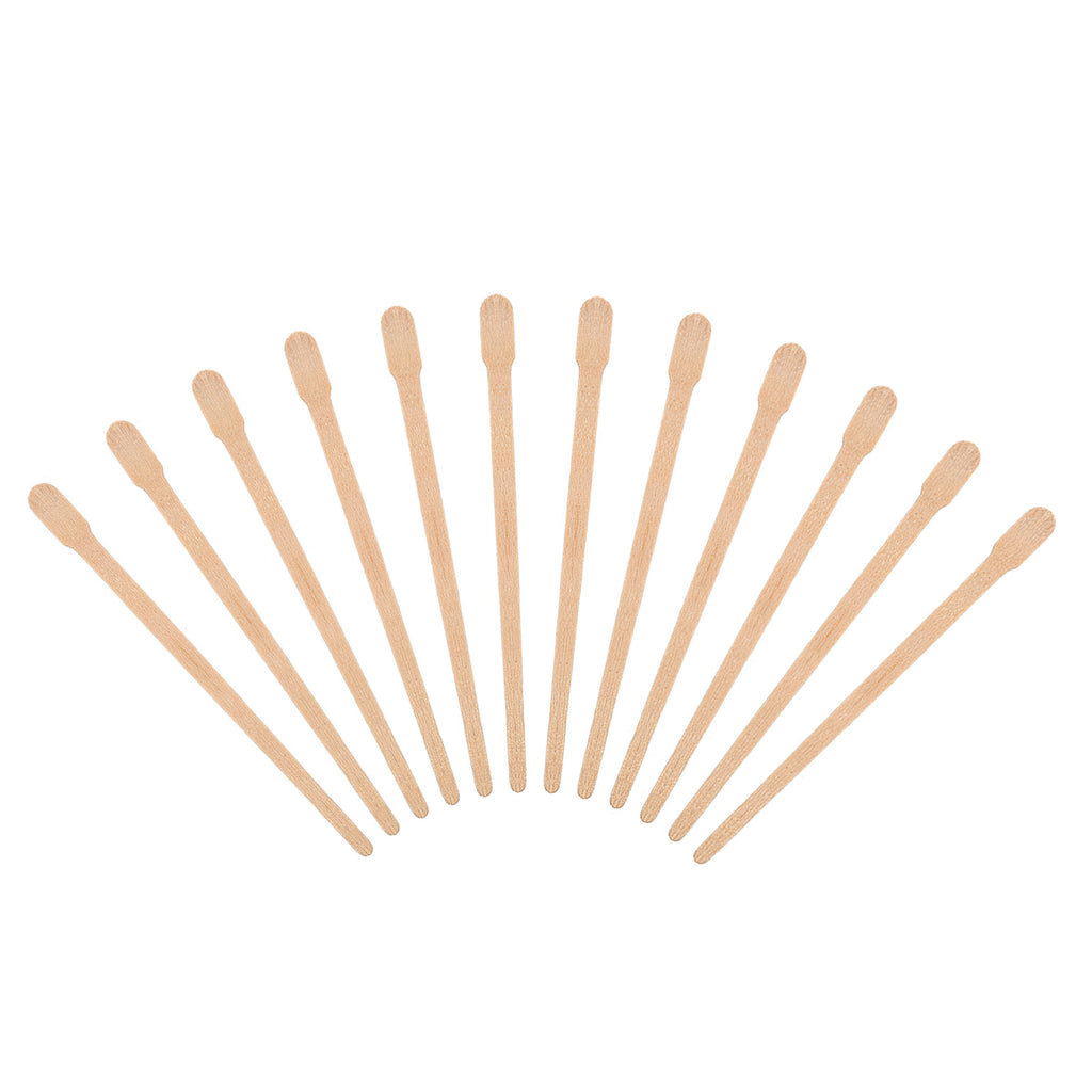 Wax Spatulas Sticks Bantoye Wax Applicator Wood Craft Sticks for Hair Eyebrow Removal