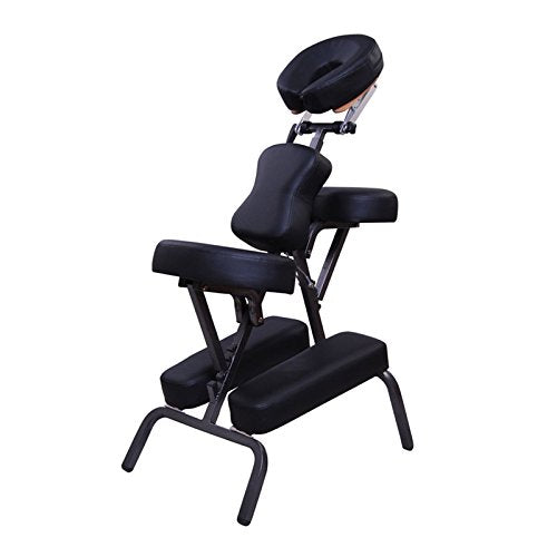 Choice Metal Portable Folding Massage Chair-Black - Greenlife
