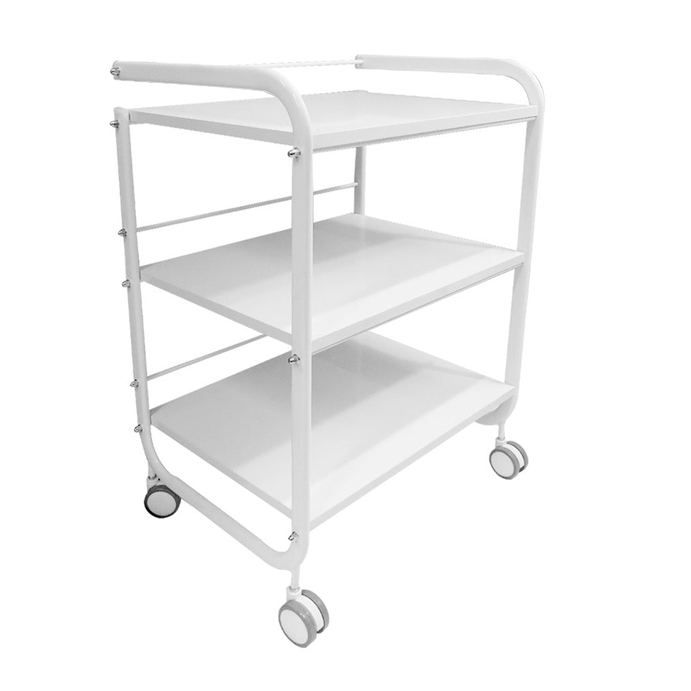 Beauty Metal Frame Three Shelves Trolley - ST421