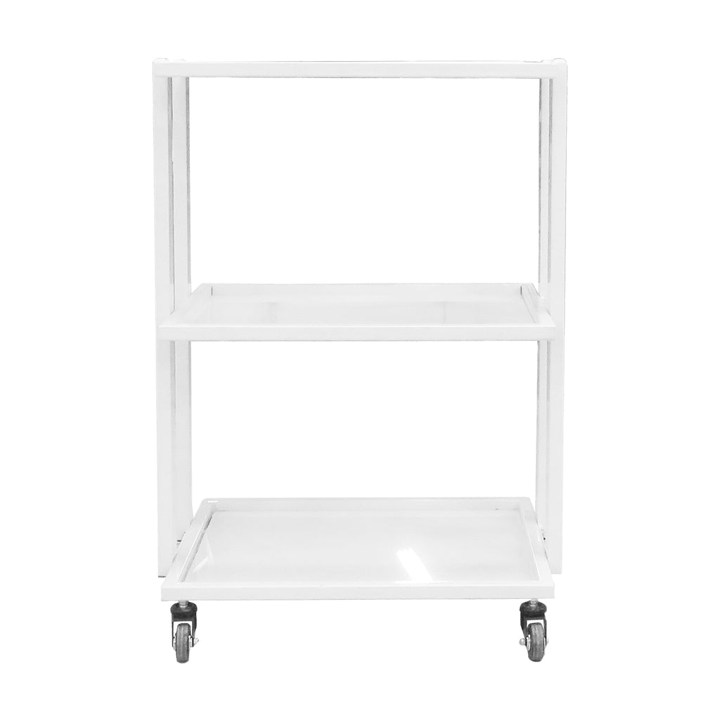 Beauty Tempered Glass Trolley with Three Shelves - GST251 - Greenlife