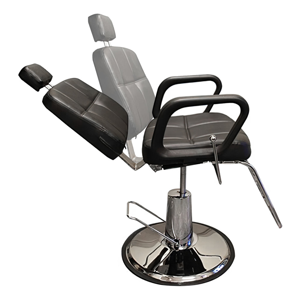 Choice Comfortable Recline Salon Barber Chair - BC 621 - Greenlife