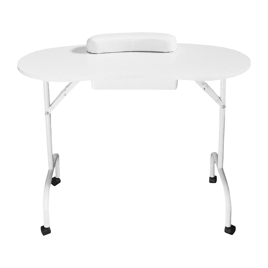 Portable Manicure Table with Carrying Bag