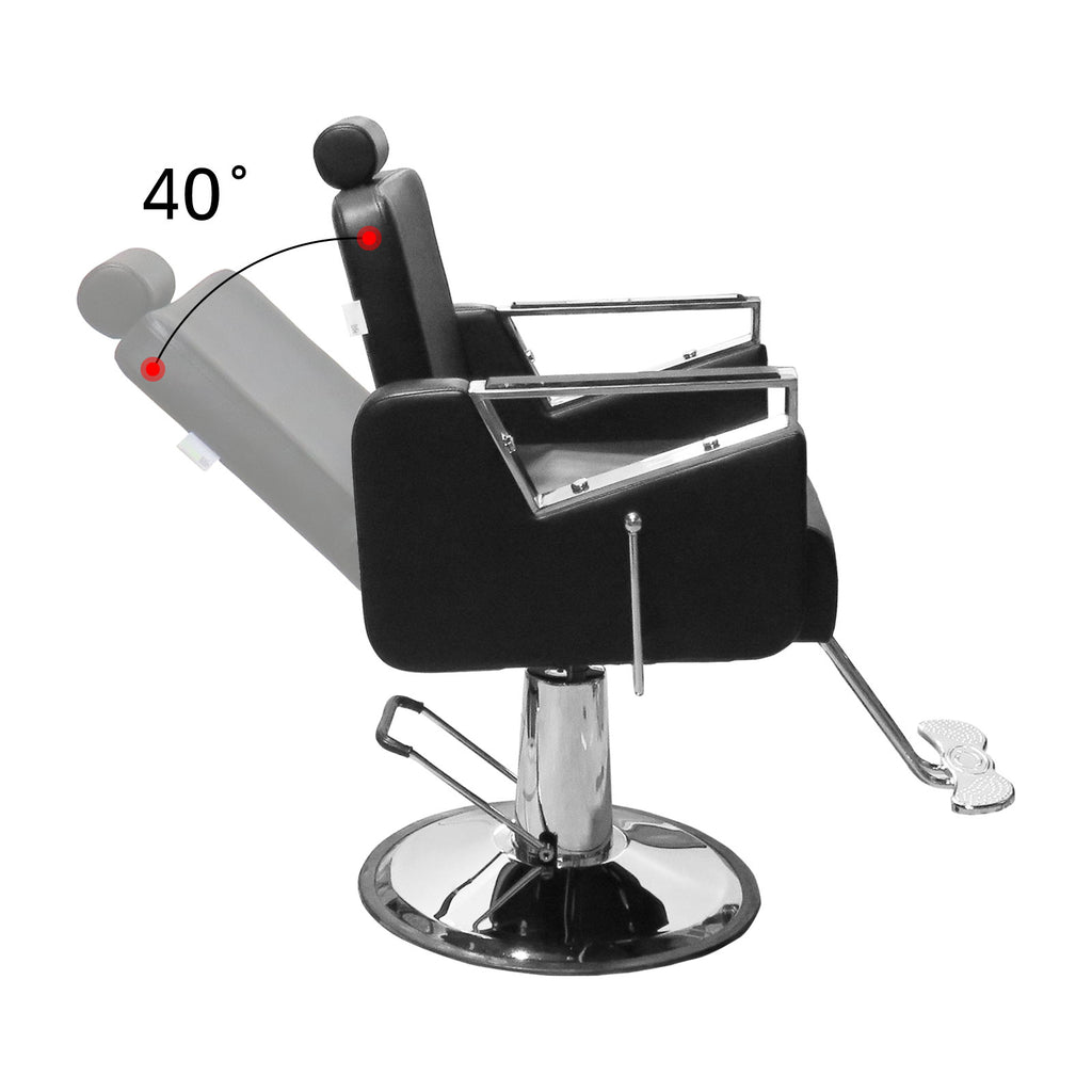 Choice Compact Recline Salon Barber Chair - BC 741 - Greenlife