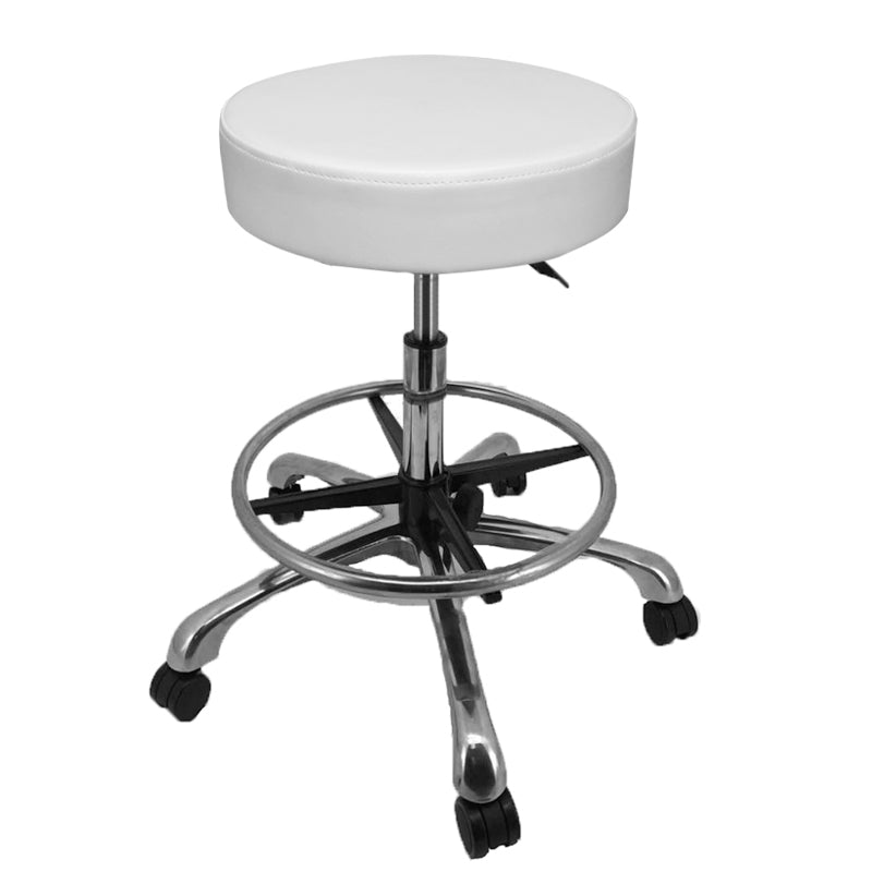 Deluxe Hydraulic Adjustable Height Rolling Stool - RSWF501