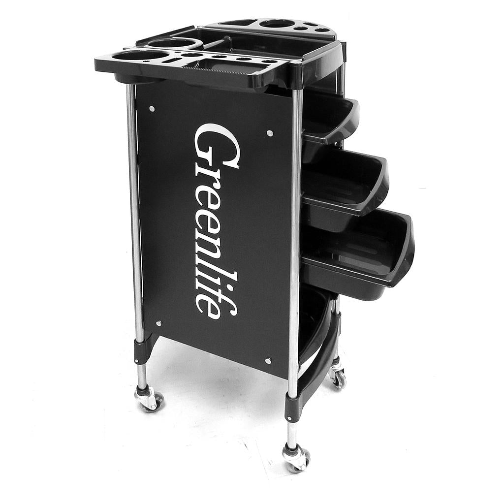 Salon SPA Hairdressing Trolley Salon Cart with 4 Drawers (X11-2) - Greenlife