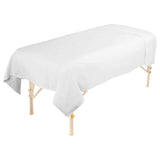 Flannel Massage Table Flat Sheet - Greenlife