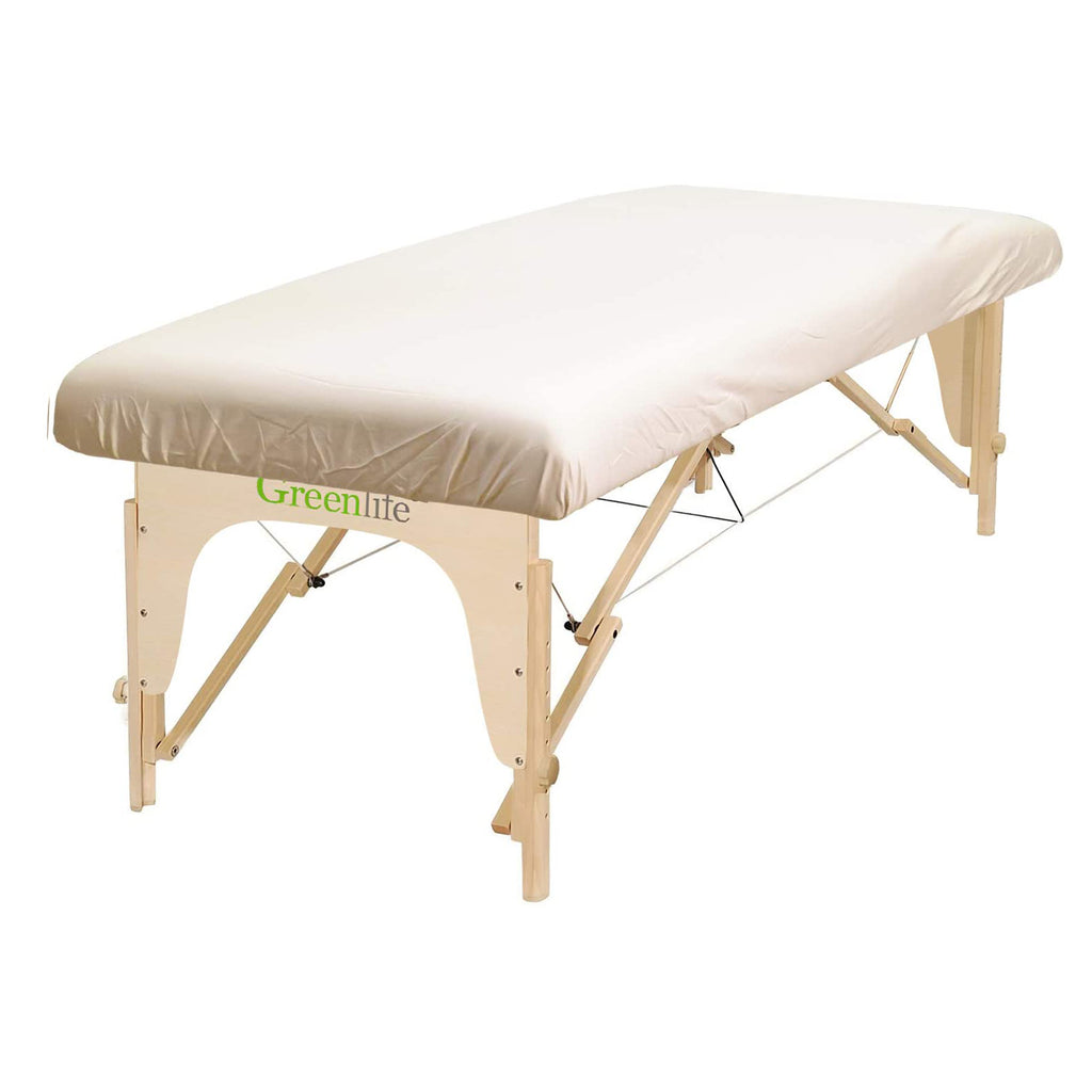 Poly-Cotton Massage Table Fitted Sheet