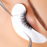 Eye gel patches for eyelash extensions