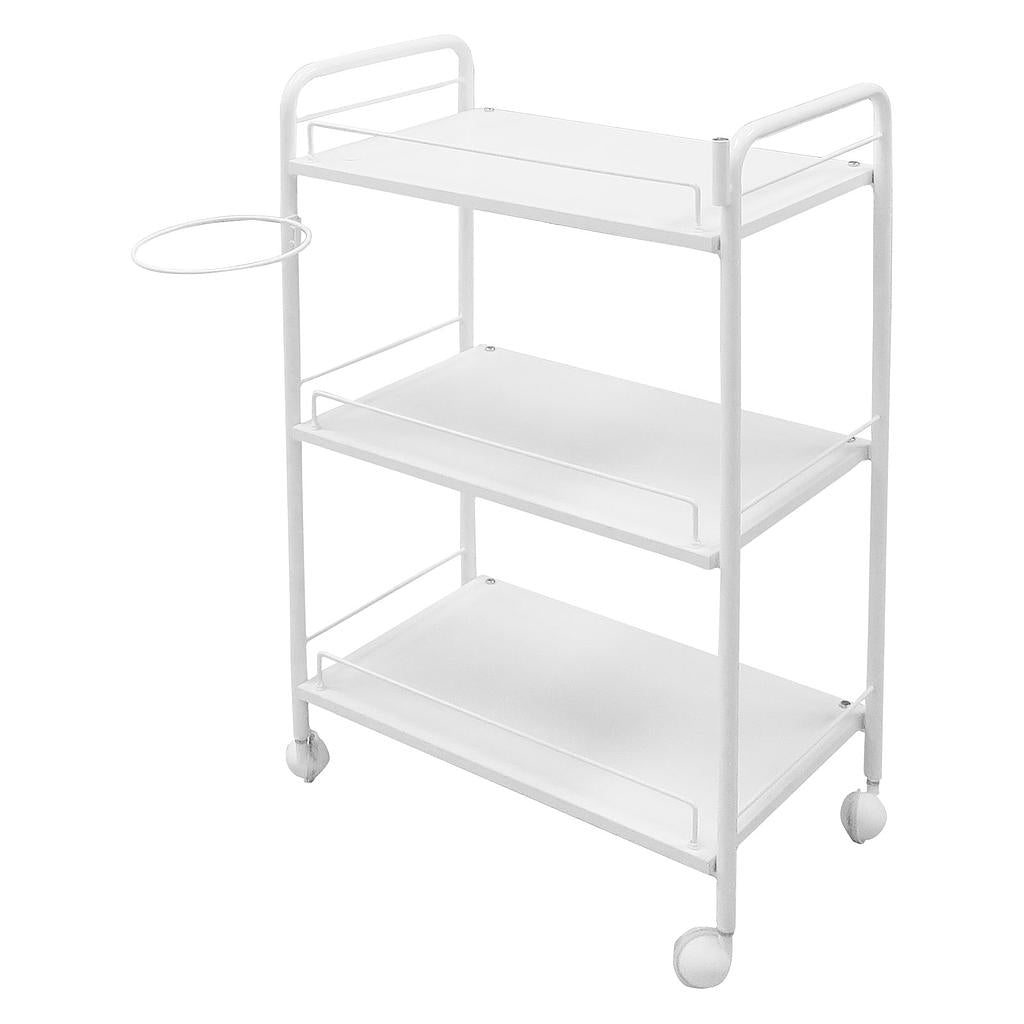 Beauty Three Shelves Trolley with Lamp Holder and Bowl Holder - ST261 - Greenlife