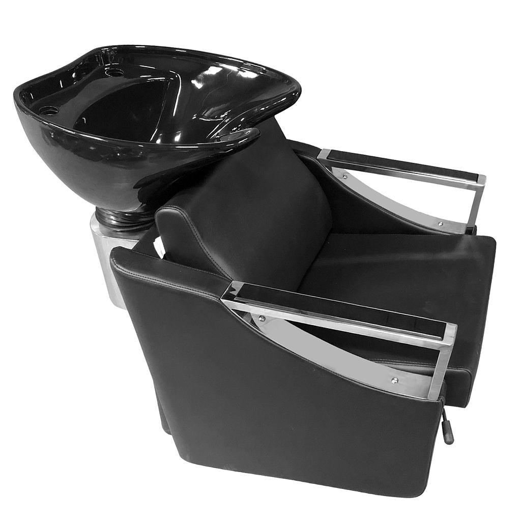Luxury Backwash Shampoo Unit Bowl Sink Chair Station (32981) - Greenlife