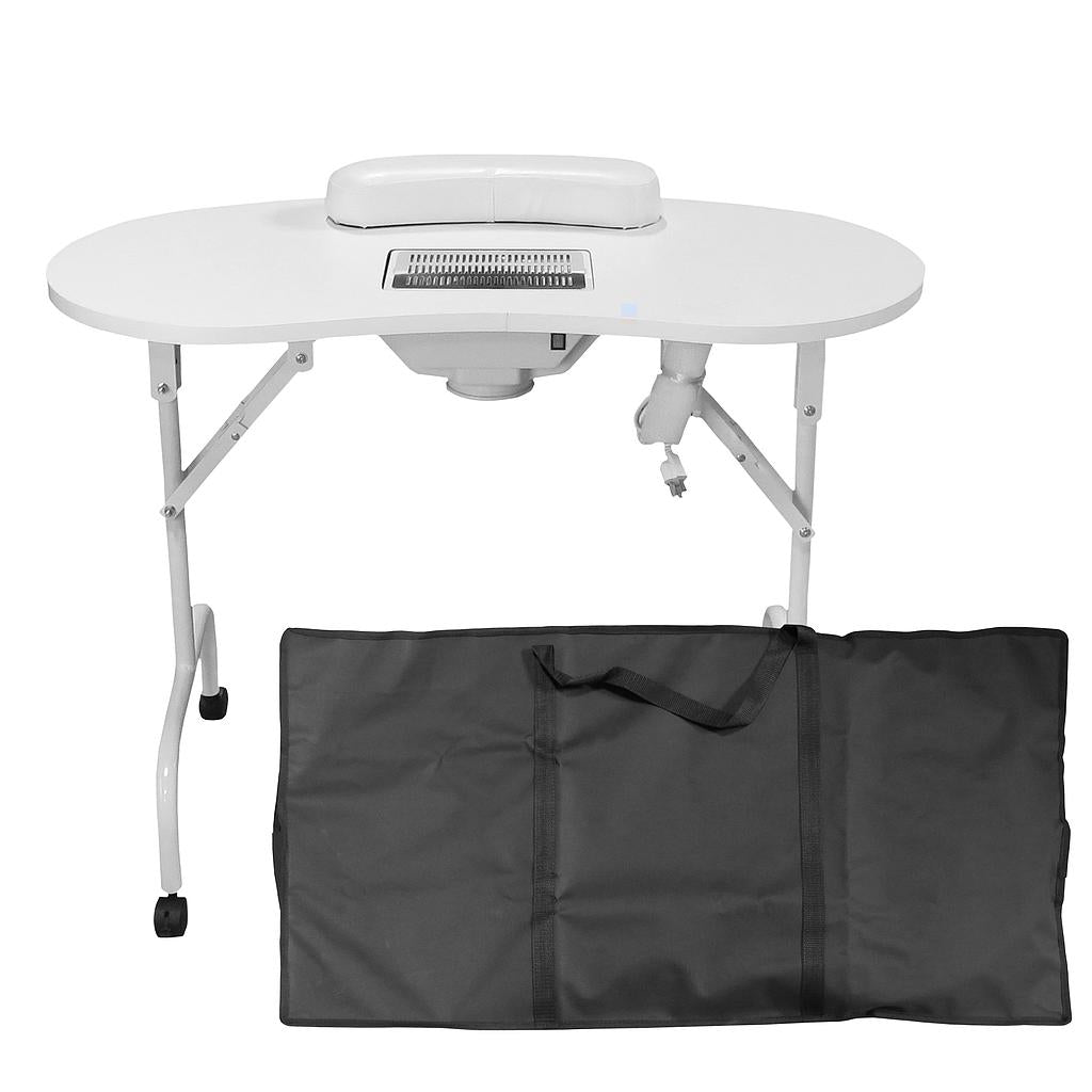 Portable Manicure Table with Dust Extractor