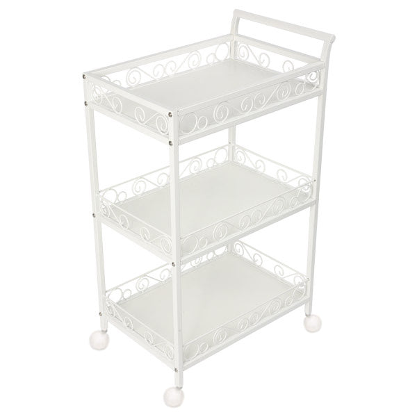 Beauty Metal Frame Three Shelves Trolley - ST301 - Greenlife