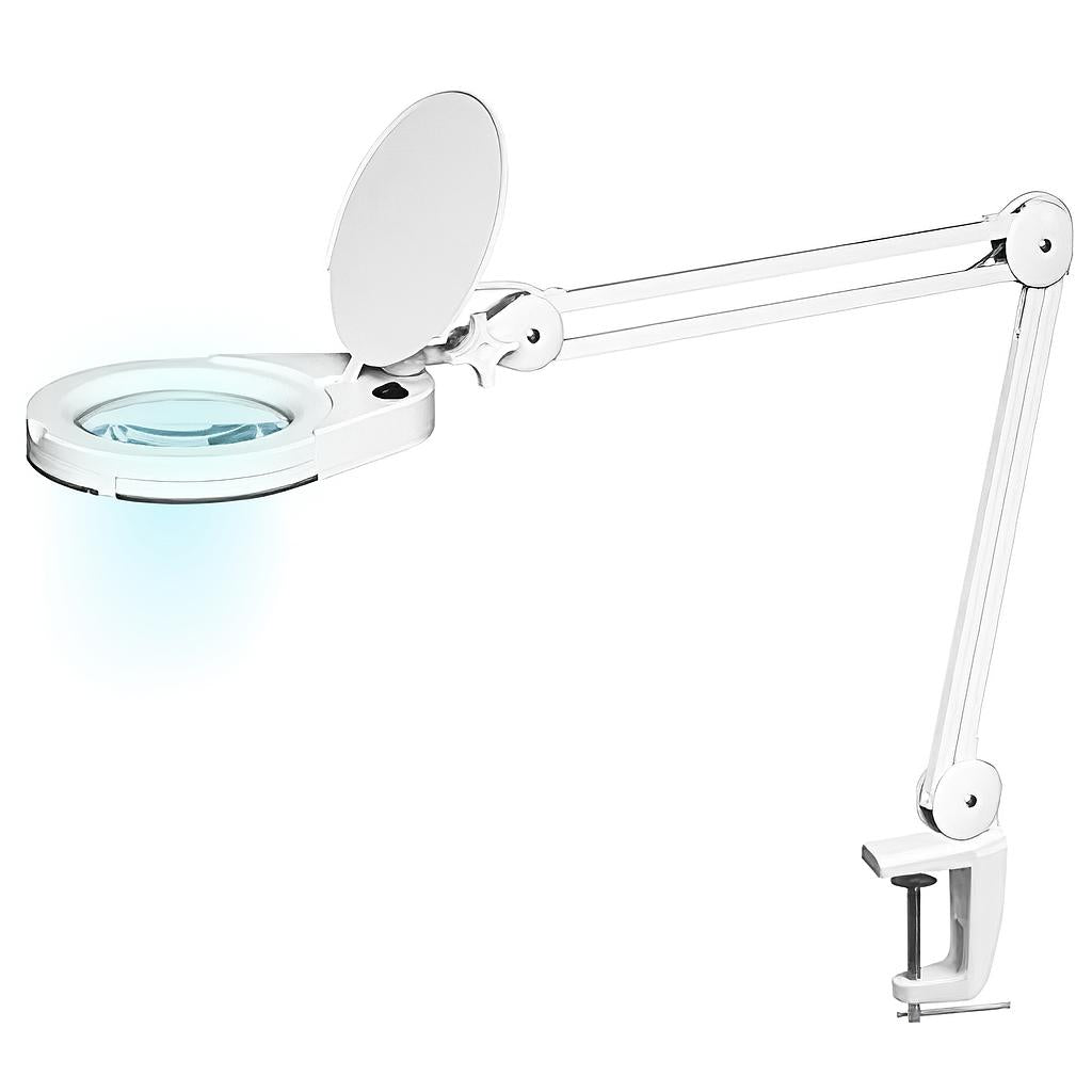 LED Magnifying Lamp with Desk/Bench Clamp 6025-1 - Greenlife