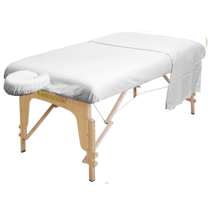 Microfiber 3 Pieces Massage Table Sheet Set - Greenlife