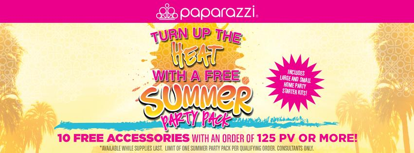 Paparazzi Accessories July Promotion - FREE Summer Party Pack!