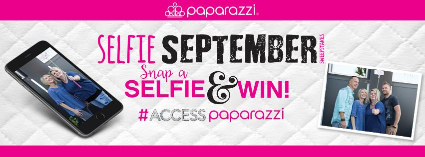 Selfie September - Paparazzi Sept 2017