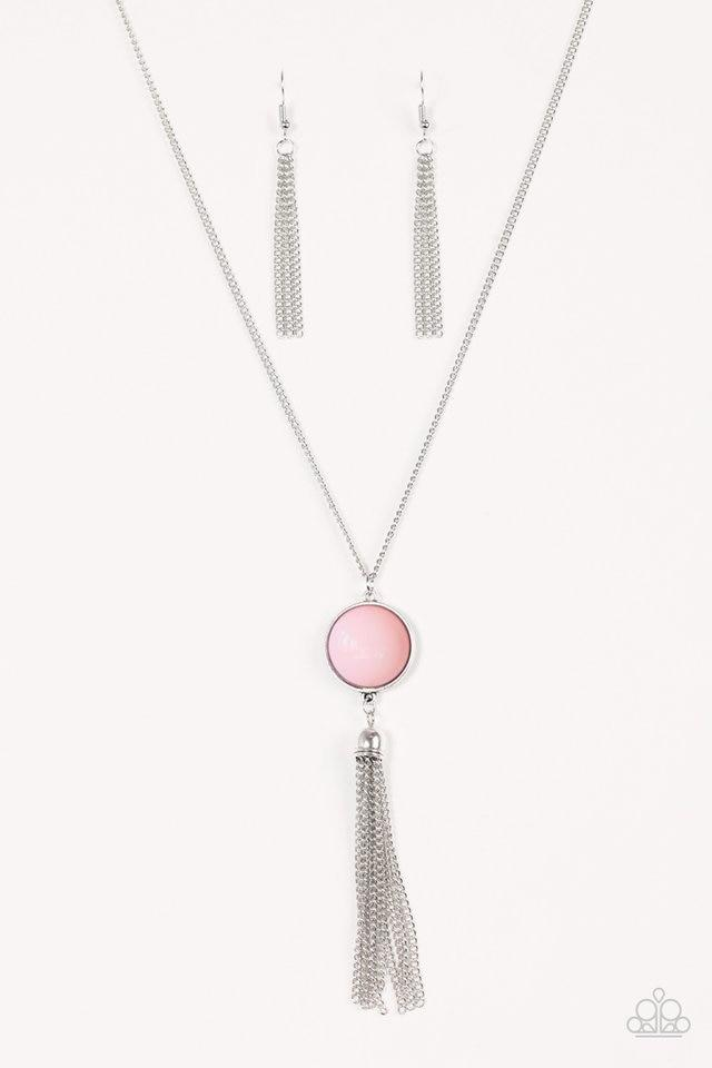 Paparazzi Necklace - Pep In Your Step - Pink