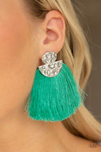 Load image into Gallery viewer, Paparazzi Earring ~ Make Some PLUME - Green