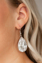 Load image into Gallery viewer, Paparazzi Earring ~ Limo Ride - White