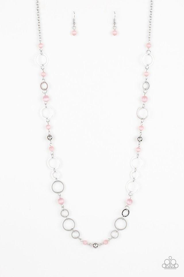 Paparazzi Necklace ~ Kid In A Candy Shop - Pink