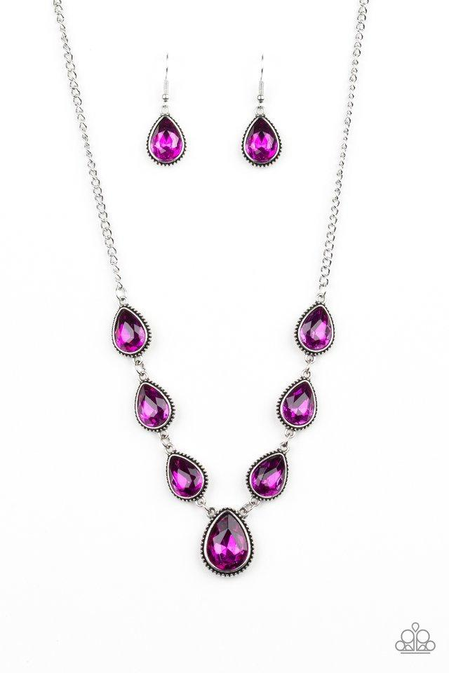 Paparazzi Necklace ~ Socialite Social - Pink