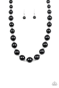 Paparazzi Necklace ~ Uptown Heiress - Black