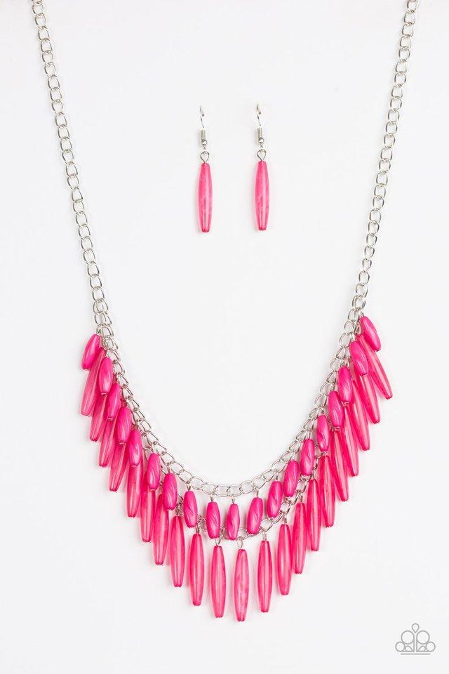 Paparazzi Necklace - Speak Of The DIVA - Pink