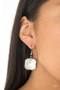 Paparazzi Earring ~ Me, Myself, and IDOL - White