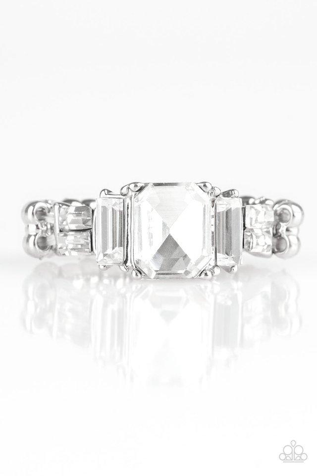 Paparazzi Ring ~ Born To Rule - White