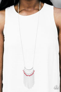 Paparazzi Necklace - Desert Dancer - Red