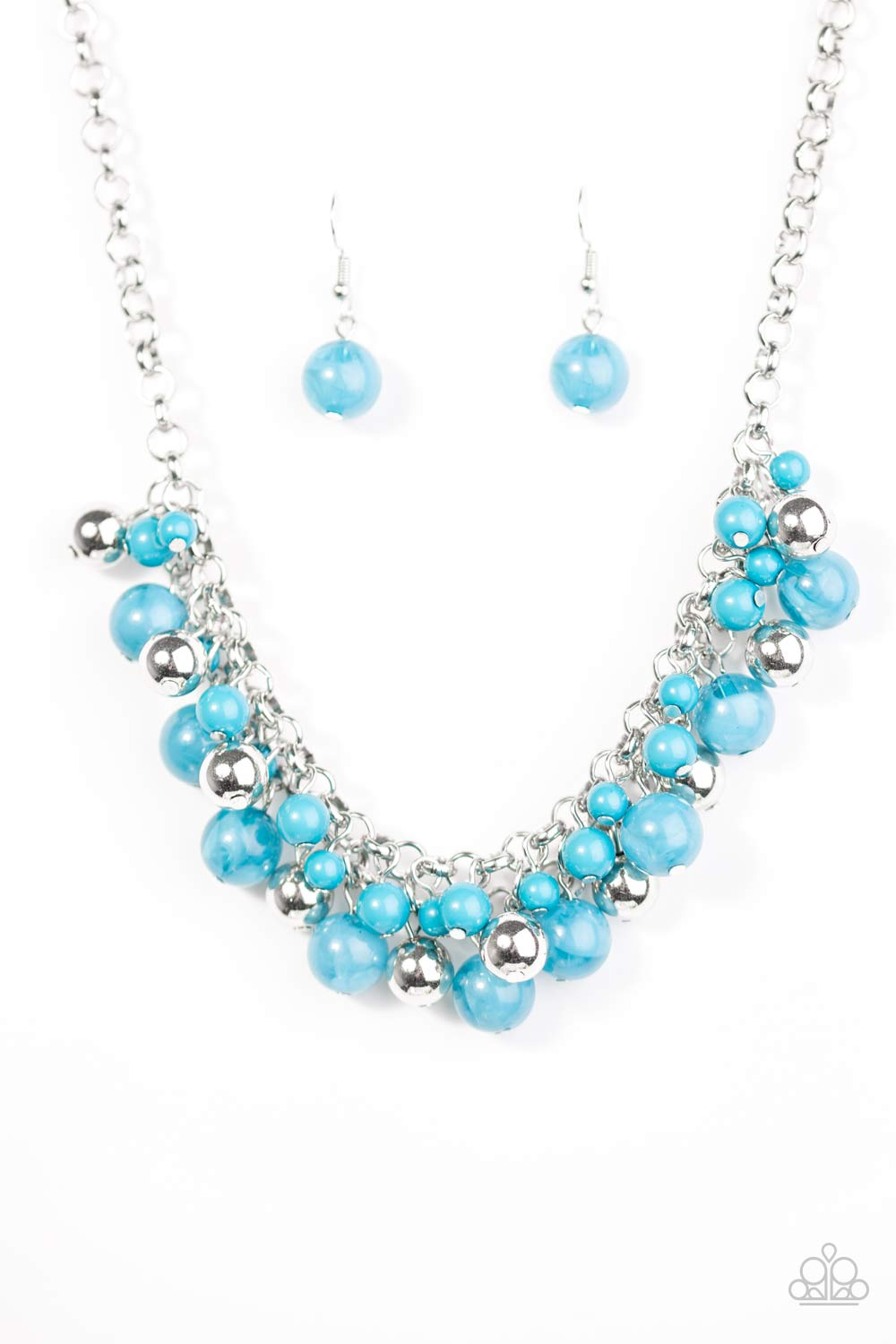 Paparazzi Necklace - For The Love Of Fashion- Blue