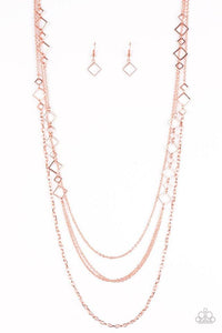 Paparazzi Necklace - Hey, Hotshot! - Copper