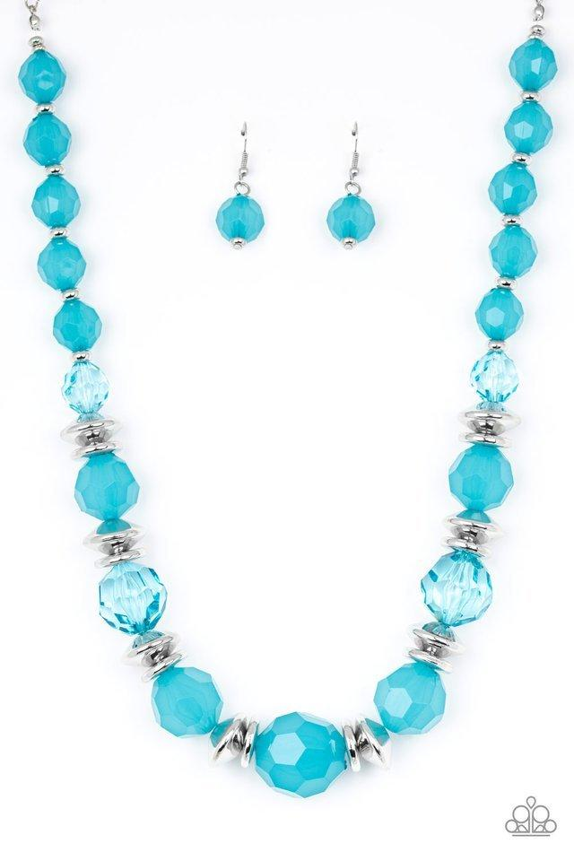 Paparazzi Necklace ~ Dine and Dash - Blue
