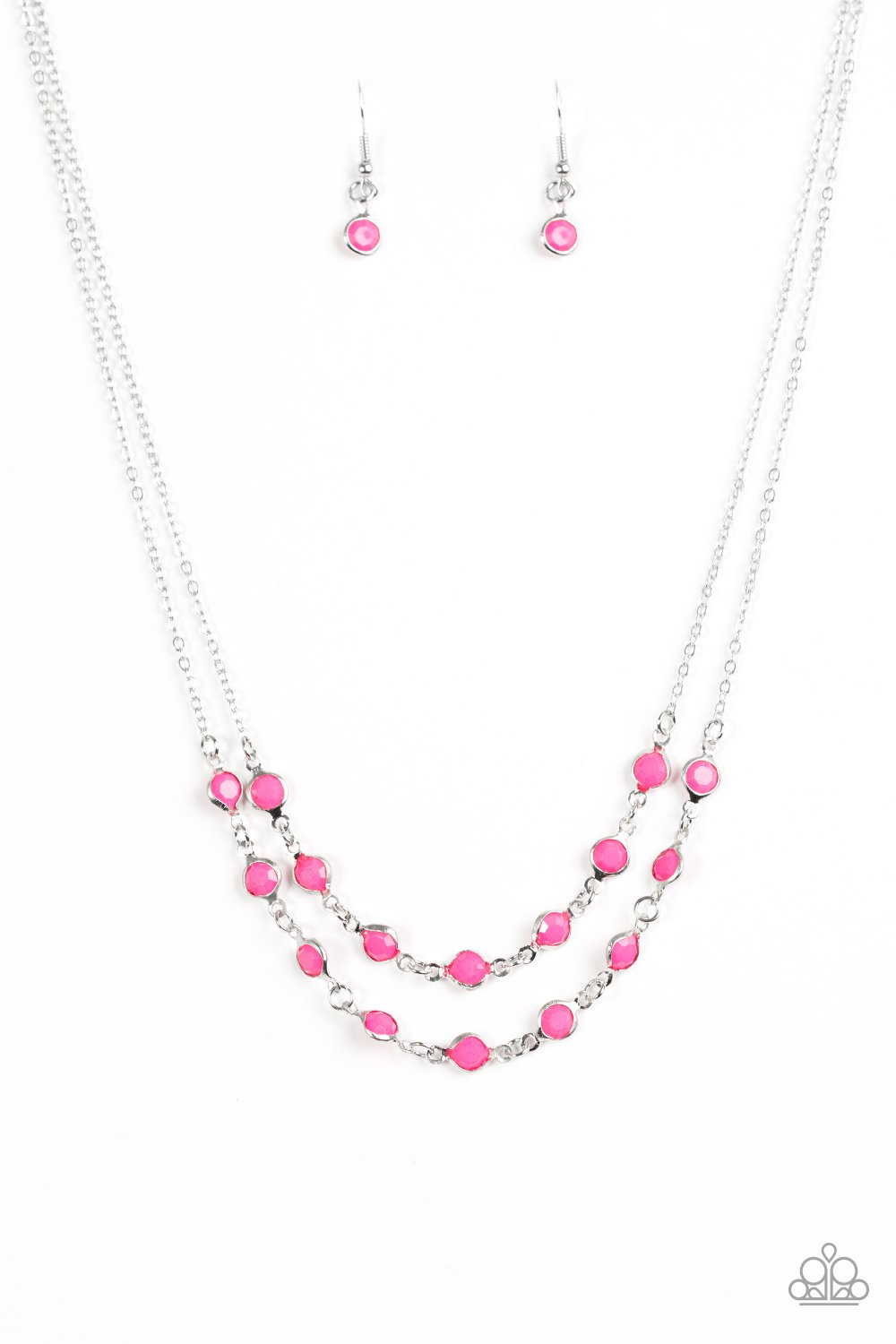 Paparazzi Accessories ~ Summer Girl - Pink