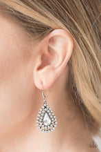 Load image into Gallery viewer, Paparazzi Earrings - Diamond Dazzle - White