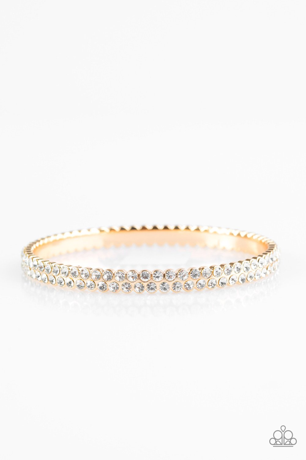Paparazzi Accessories ~ Decked Out In Diamonds - Gold
