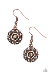 Paparazzi Accessories ~ Perennial Party - Copper