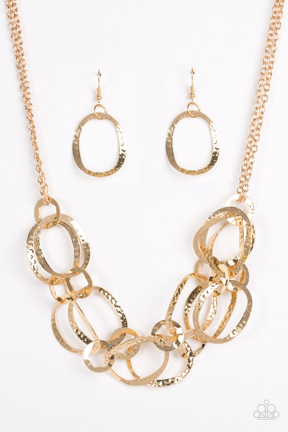 Paparazzi Accessories ~ Circus Chic - Gold