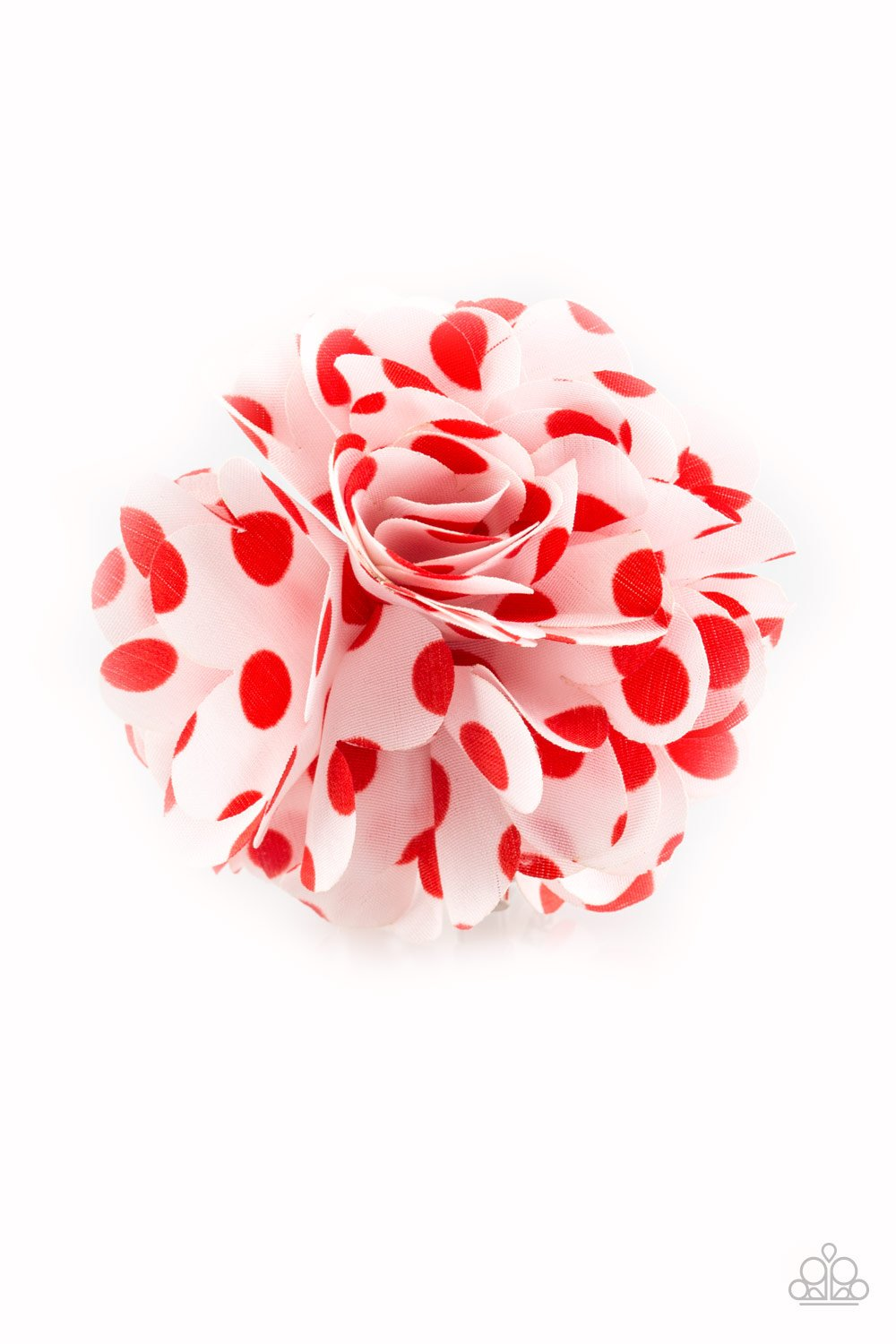 Paparazzi Accessories ~ Polka Posy - Red