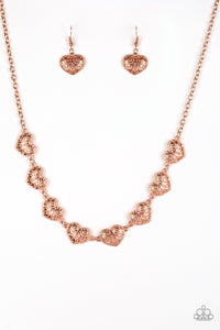 Paparazzi Accessories ~ Easy To Adore - Copper