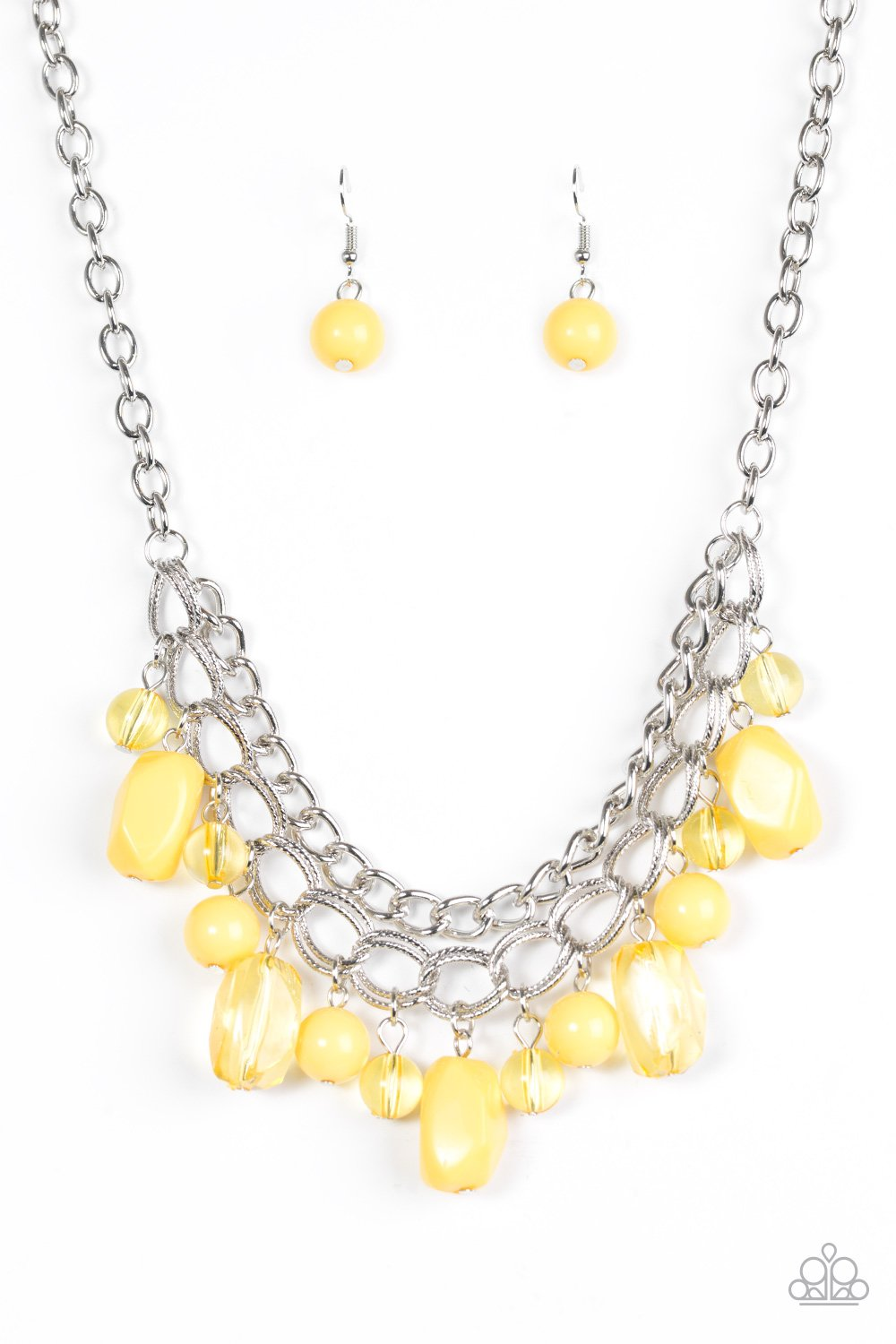 Paparazzi Accessories ~ Brazilian Bay - Yellow