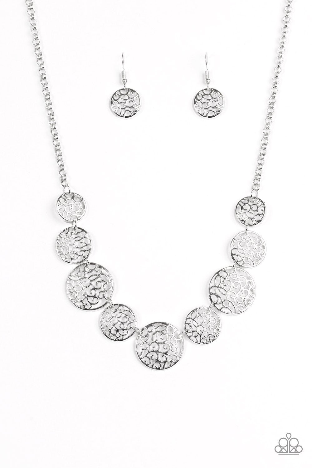 Paparazzi Accessories ~ All The Time In The WHIRL - Silver