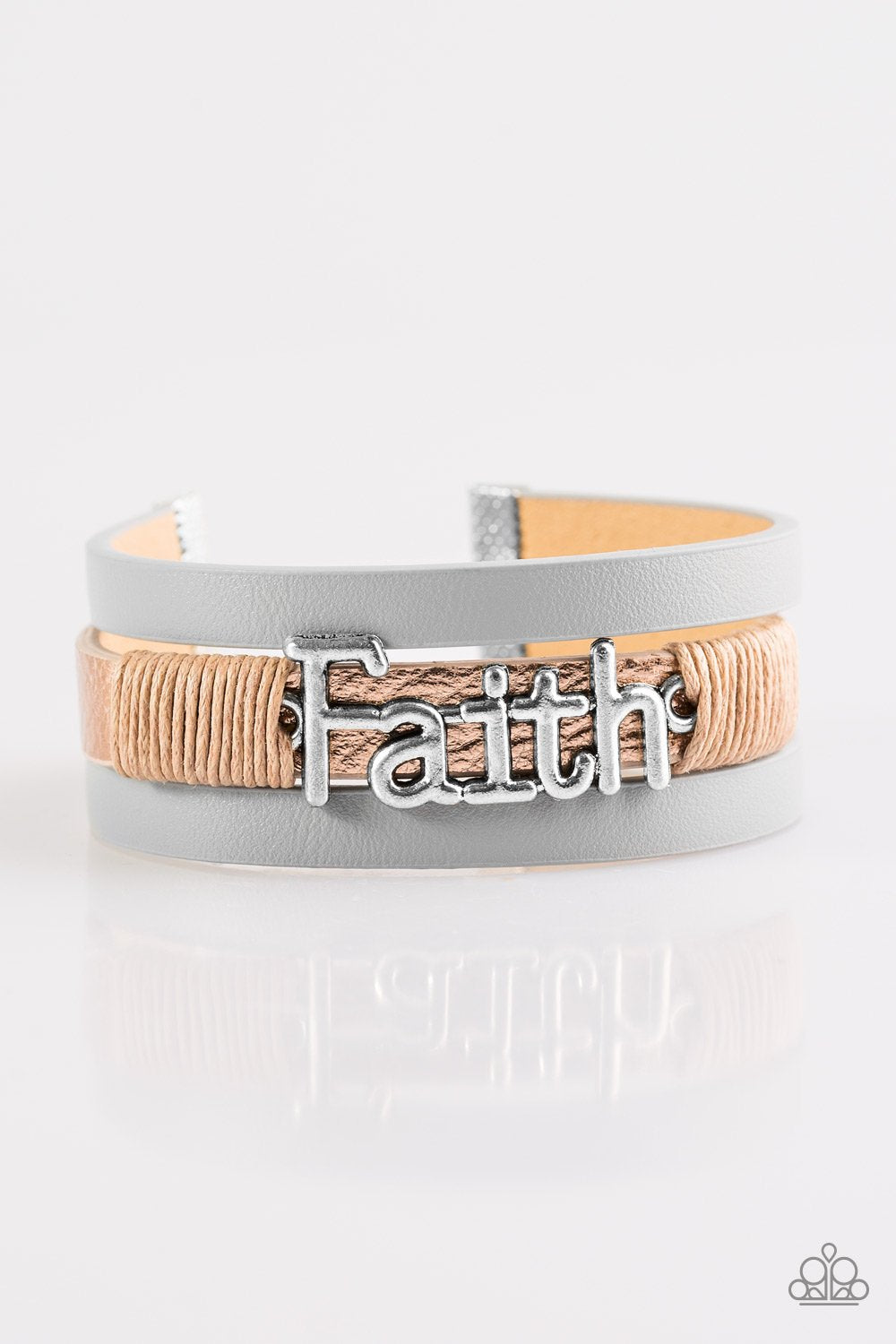 Paparazzi Accessories ~ An Act Of Faith - Brown