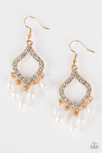 Paparazzi Accessories ~ Divinely Diamond - Gold