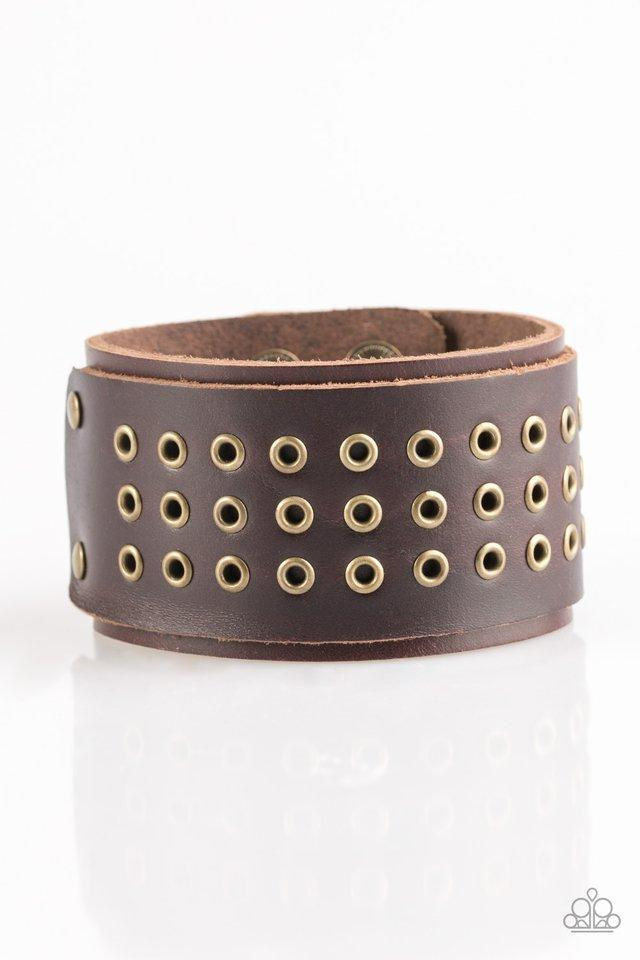 Paparazzi Accessories ~ Road Rage - Brown