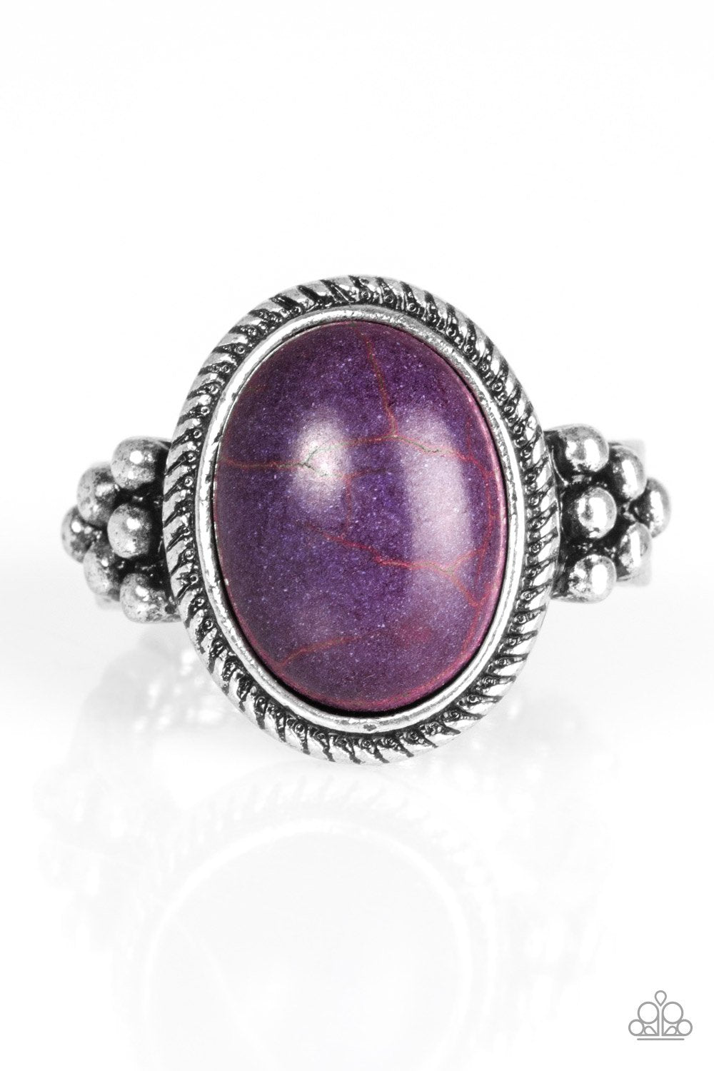 Paparazzi Accessories ~ Stone Age Sophistication - Purple