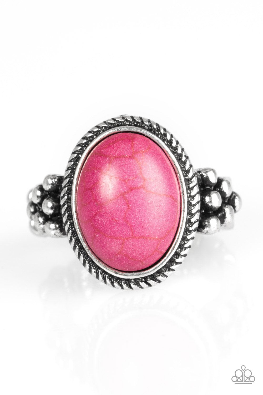 Paparazzi Accessories ~ Stone Age Sophistication - Pink