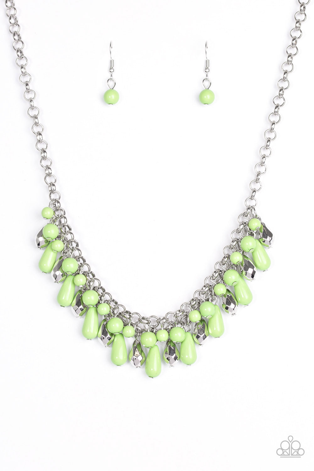 Paparazzi Necklace - Coastal Cabanas - Green